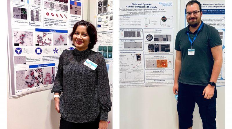 SFB 985 PhD students win poster awards at ECIS 2021